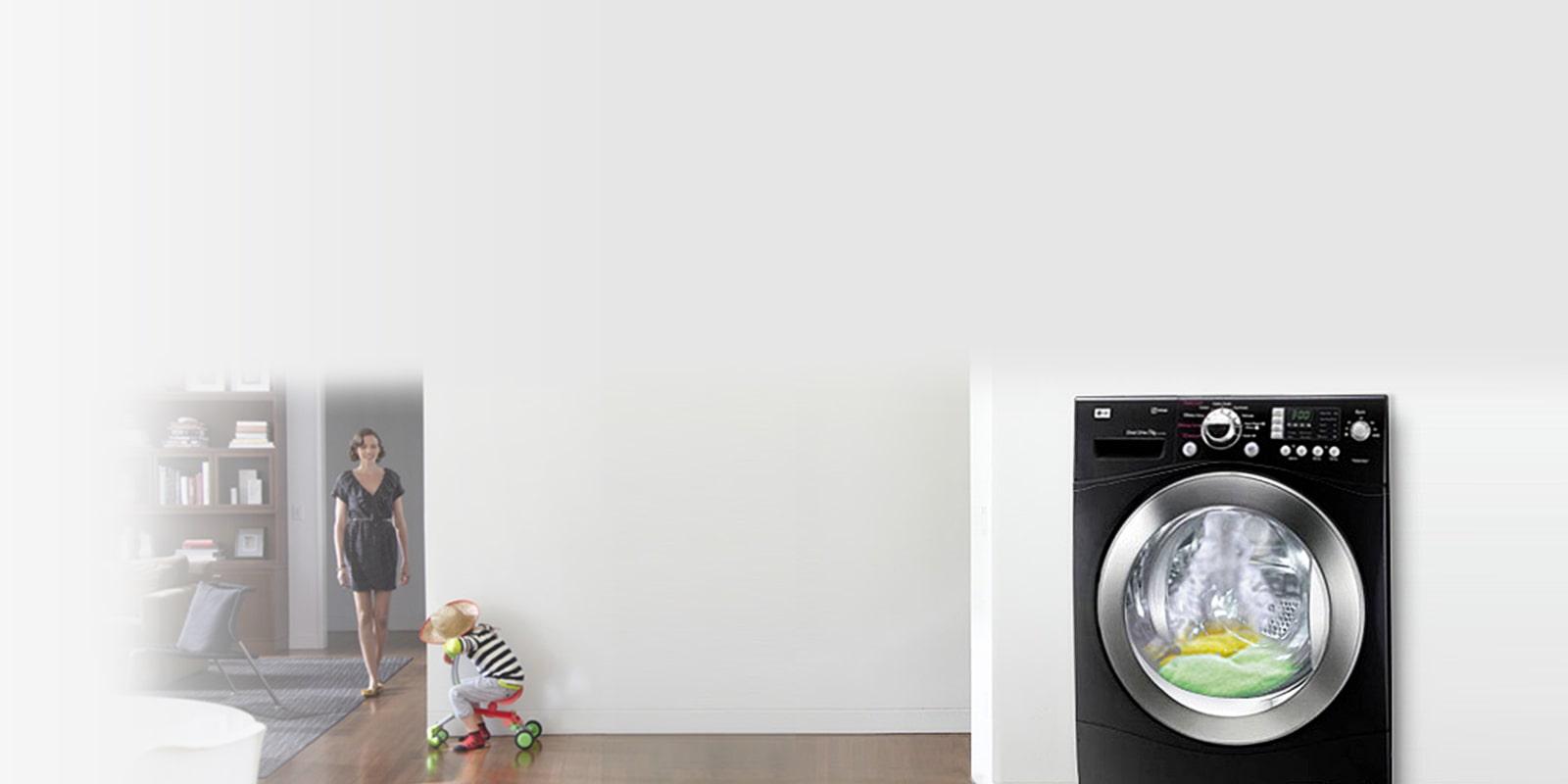 lg washing machine tub wash