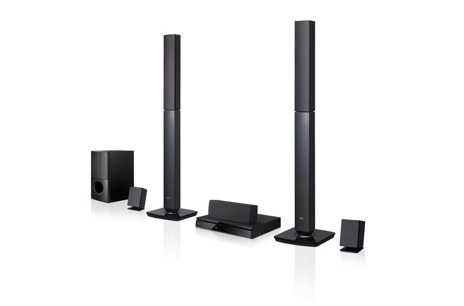 LG Home Theatre Systems LHD647 1