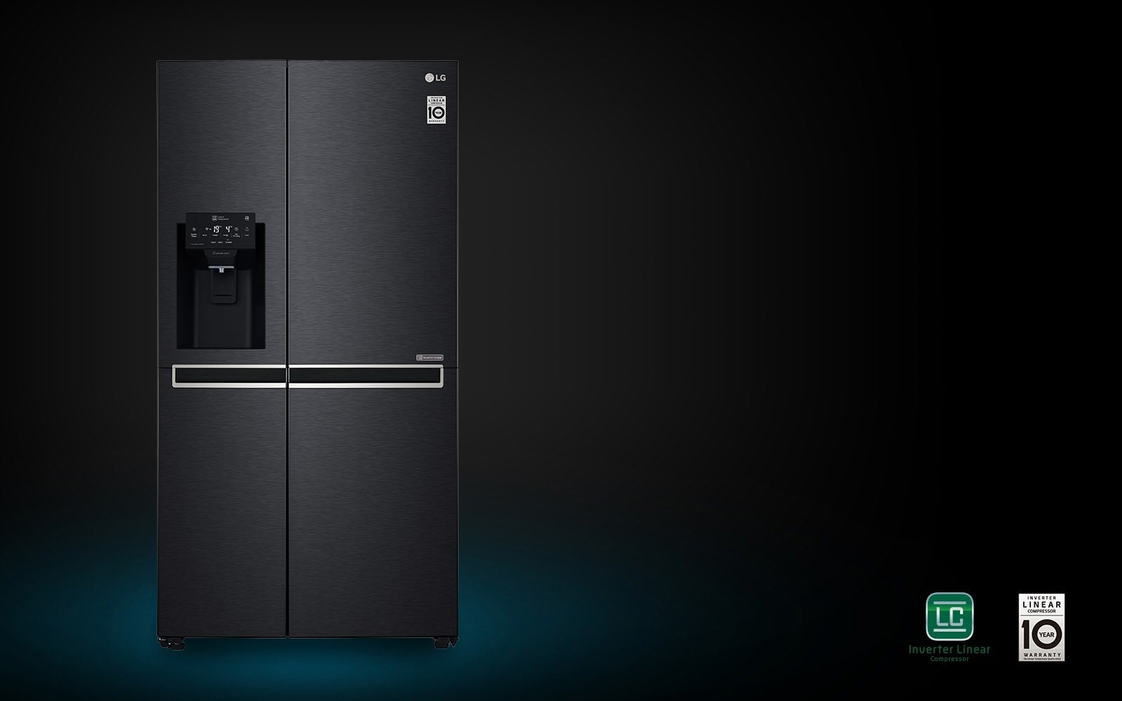 LG GC-J247SQXV 601L 10 Year Parts Warranty On Linear Compressor