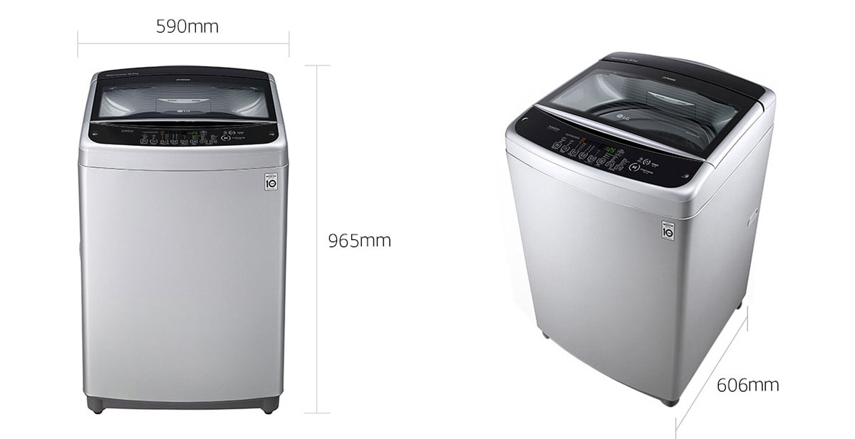 LG 10 Kg Automatic Top Load Washing Machine T1066NEFTF (Imported) 1