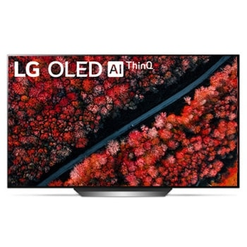 LG OLED TV 77 inch C9 Series Perfect Cinema Screen Design 4K HDR Smart TV w/ ThinQ AI1