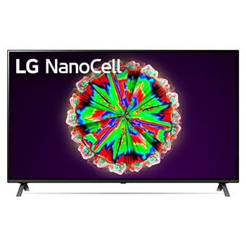 LG NanoCell TV 55 Inch NANO80 Series, Cinema Screen Design 4K Active HDR WebOS Smart ThinQ AI Local Dimming1