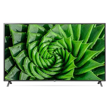 LG UHD 4K TV 86 Inch UN80 Series, Cinema Screen Design 4K Active HDR WebOS Smart ThinQ AI1