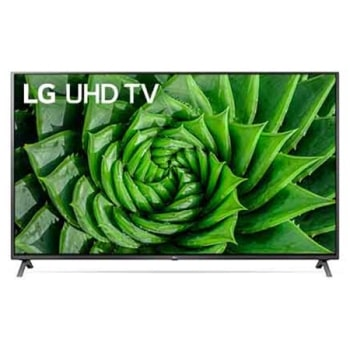LG UHD 4K TV 82 Inch UN80 Series, Cinema Screen Design 4K Active HDR WebOS Smart ThinQ AI1