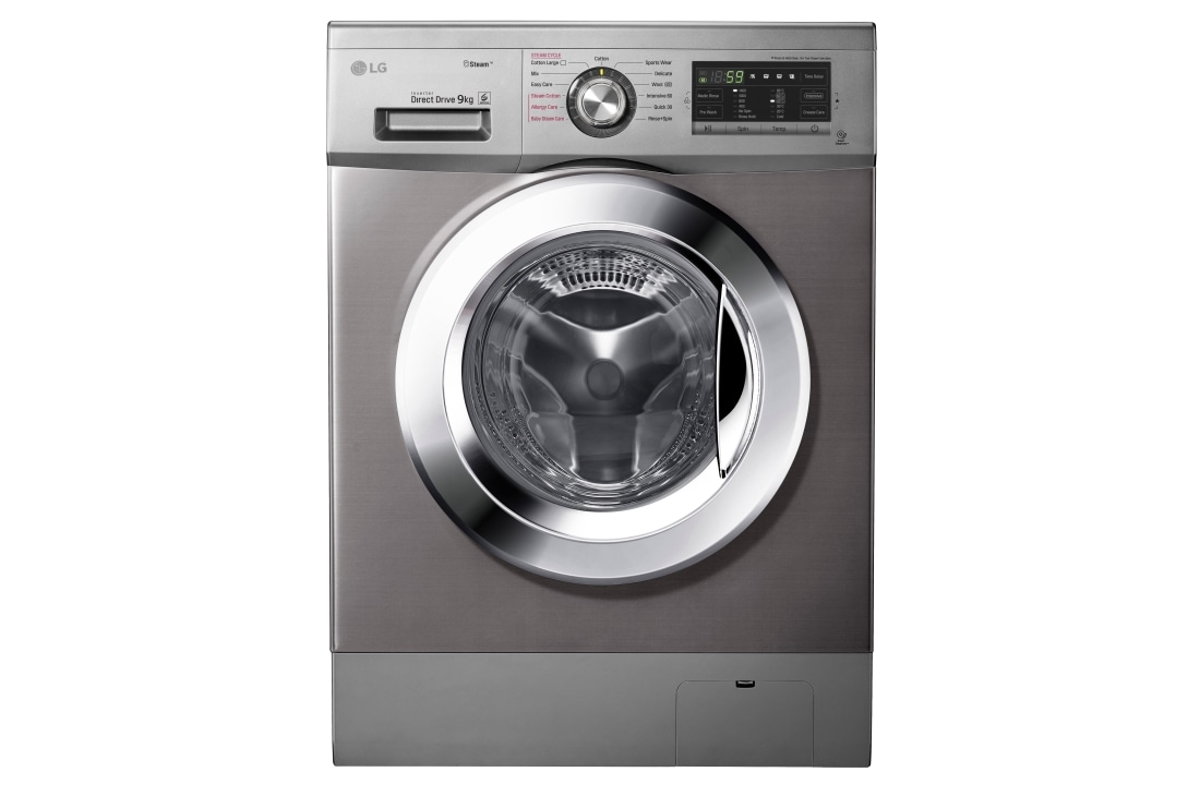 LG Washing Machine FH4G6VDYG6 in Kenya Front Load 9KG - Silver