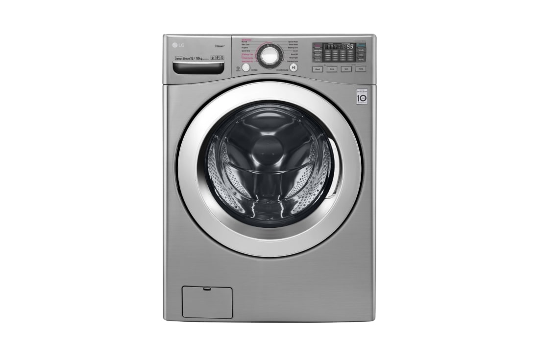 18.0Kg /10.0Kg, 6 Motion Direct Drive Washer Dryer, Touch Panel, Smart  Diagnosis, True Steam, WiFi Control