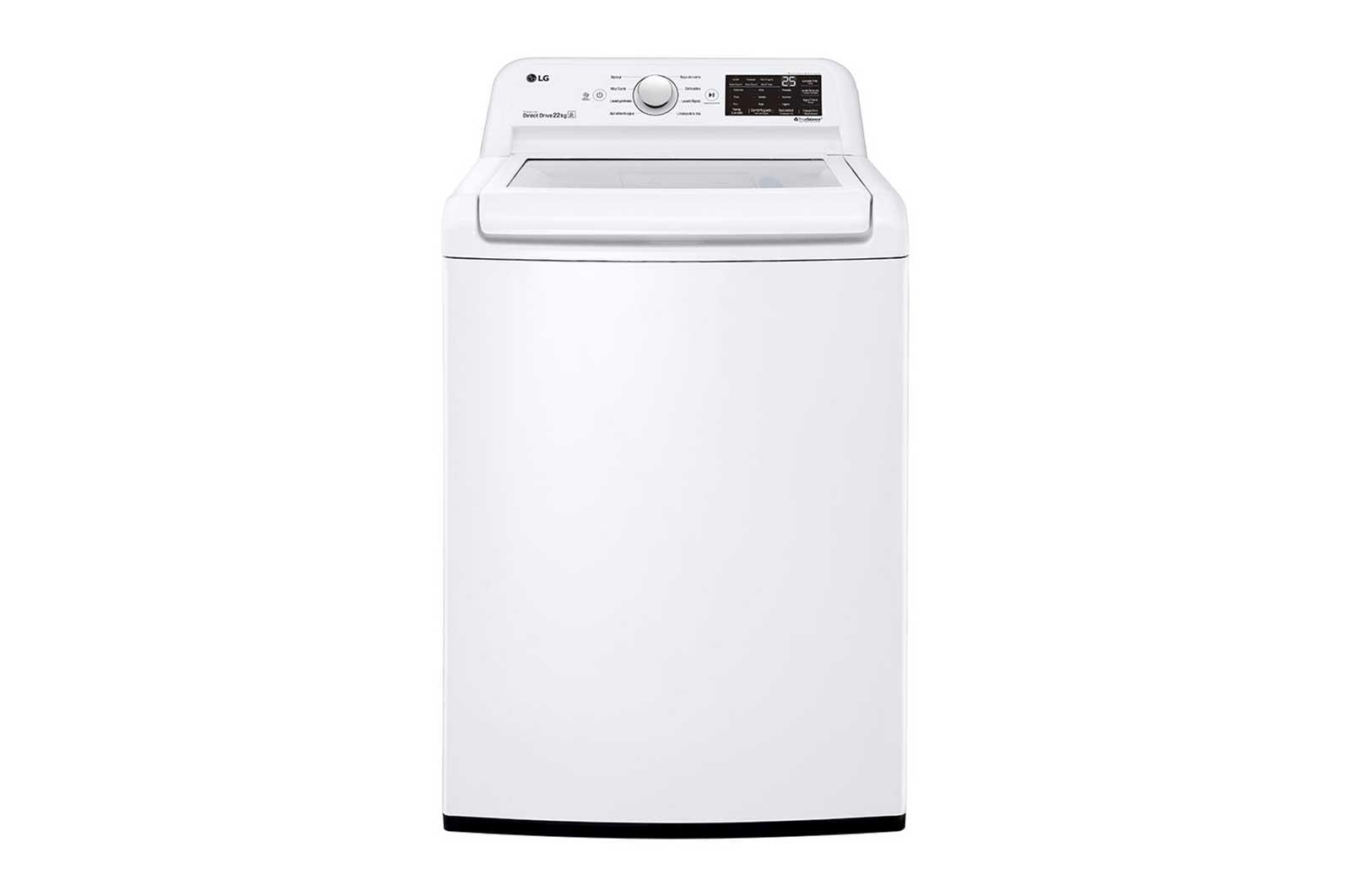 Lavadora de ropa de 50 libras - Carga Superior con Direct Drive Inverter & Smart Diagnosis