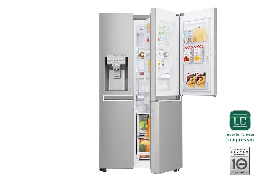 refrigeradora inverter door 20 pies de capacidad