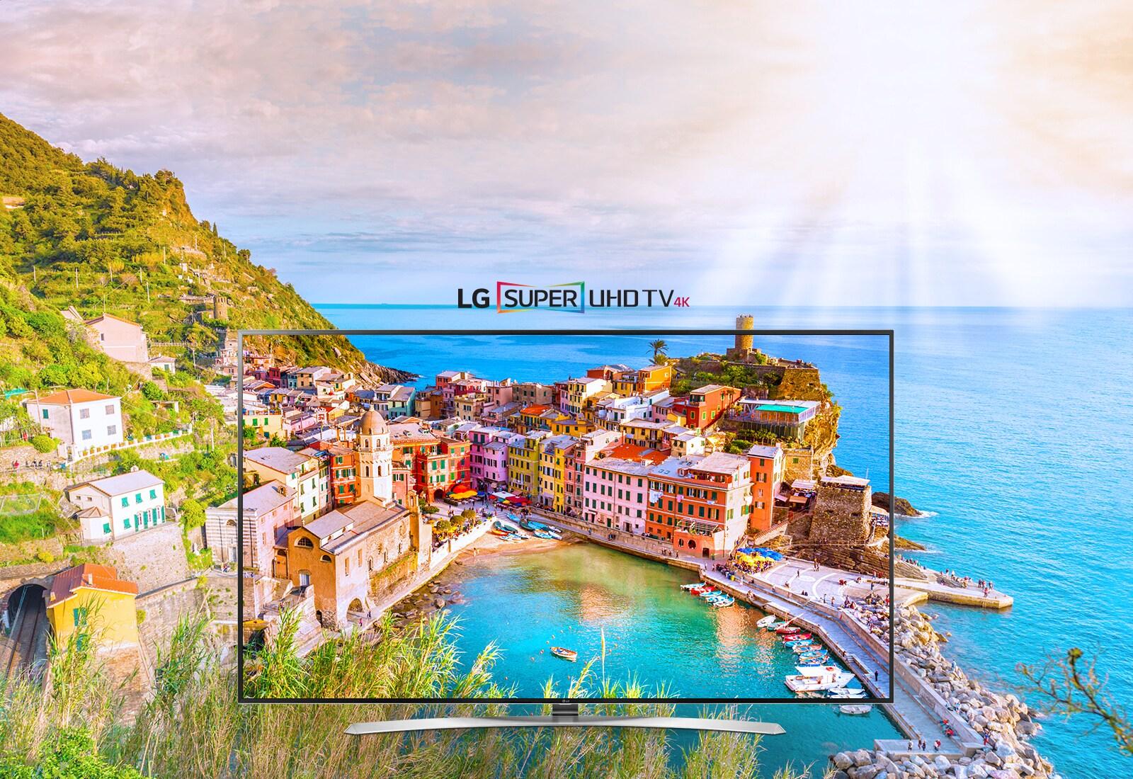 LG SUPER UHD 4K teler