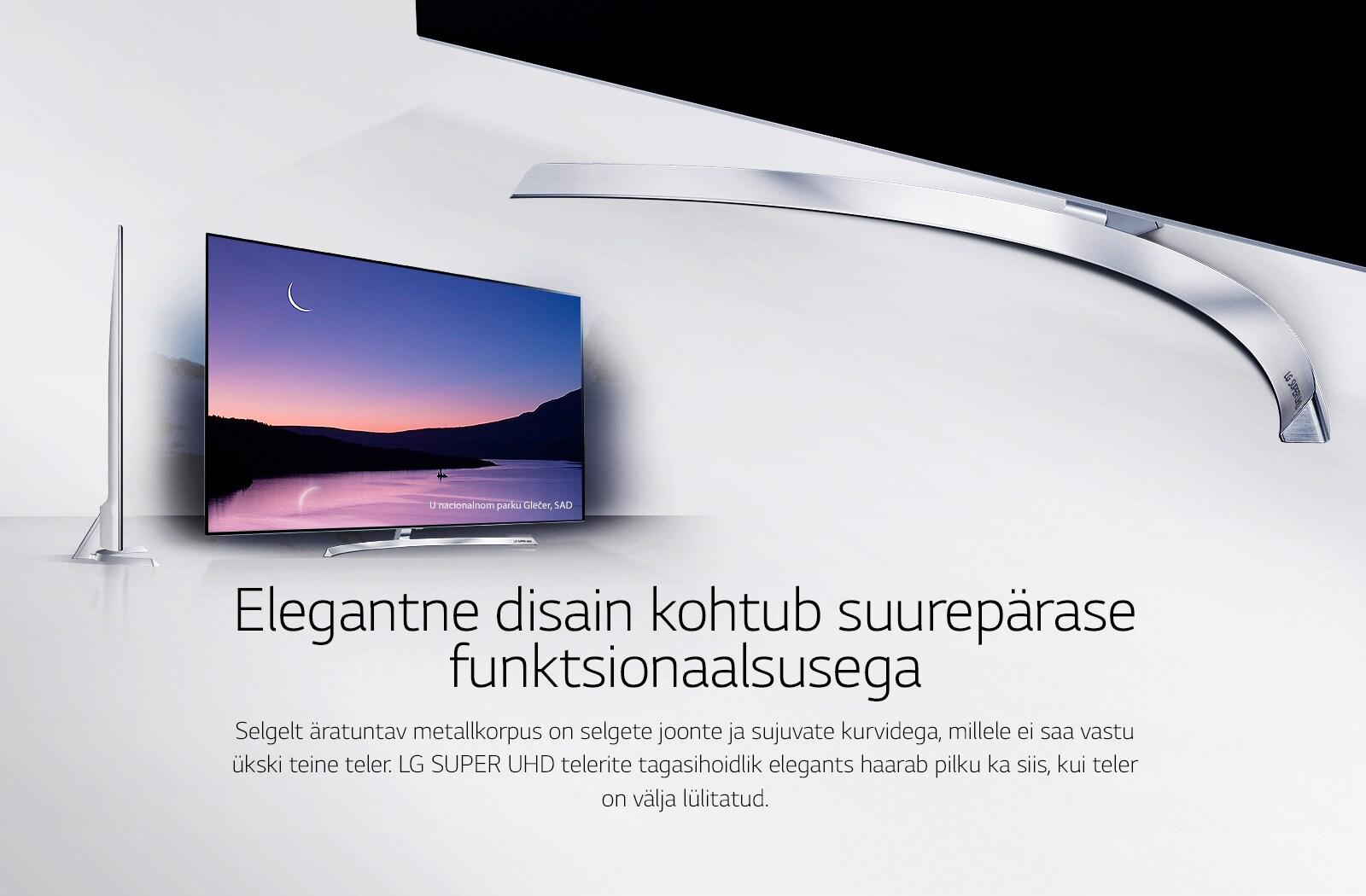 Elegantne disain ja suurepärane funktsionaalsus