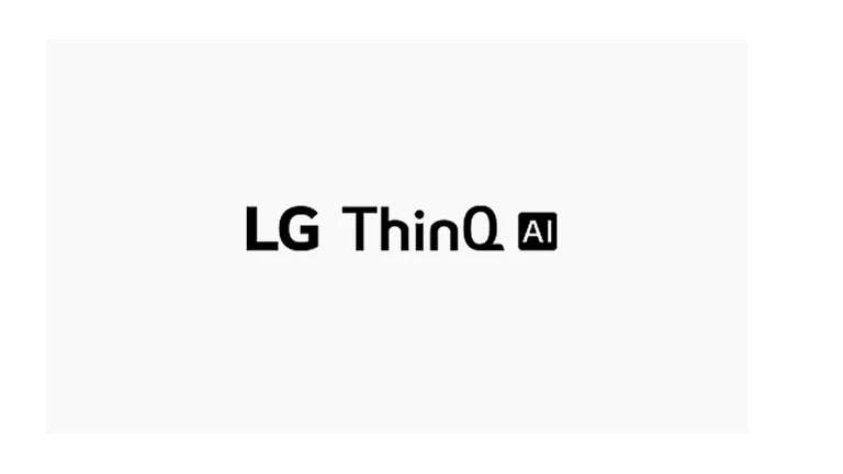 See kaart kirjeldab häälkäsklusi. Esitatakse LG ThinQ AI logo.