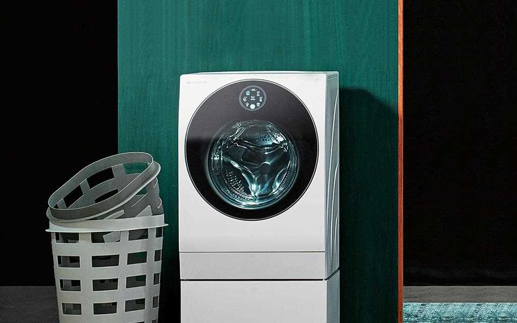 The LG SIGNATURE Washing Machine is the essence of beauty, fitting into any colour setting | More at LG MAGAZINE