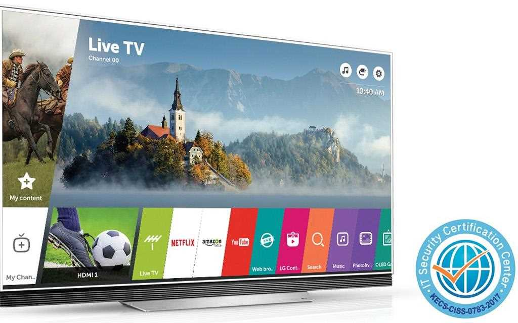 LG webOS 3.5 Smart TV platvormile anti Common Criteria turvalisuse sertifikaat