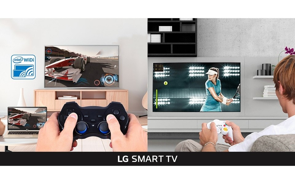 Gaming will be a whole new experience with LG Smart TVs, allowing you to pair up your computer with your TV screen for the ultimate gaming experience | More at LG MAGAZINE