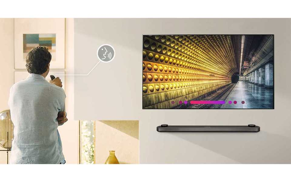 Tell your TV what to do with simple voice commands - all thanks to LG's Smart TVs | More at LG MAGAZINE