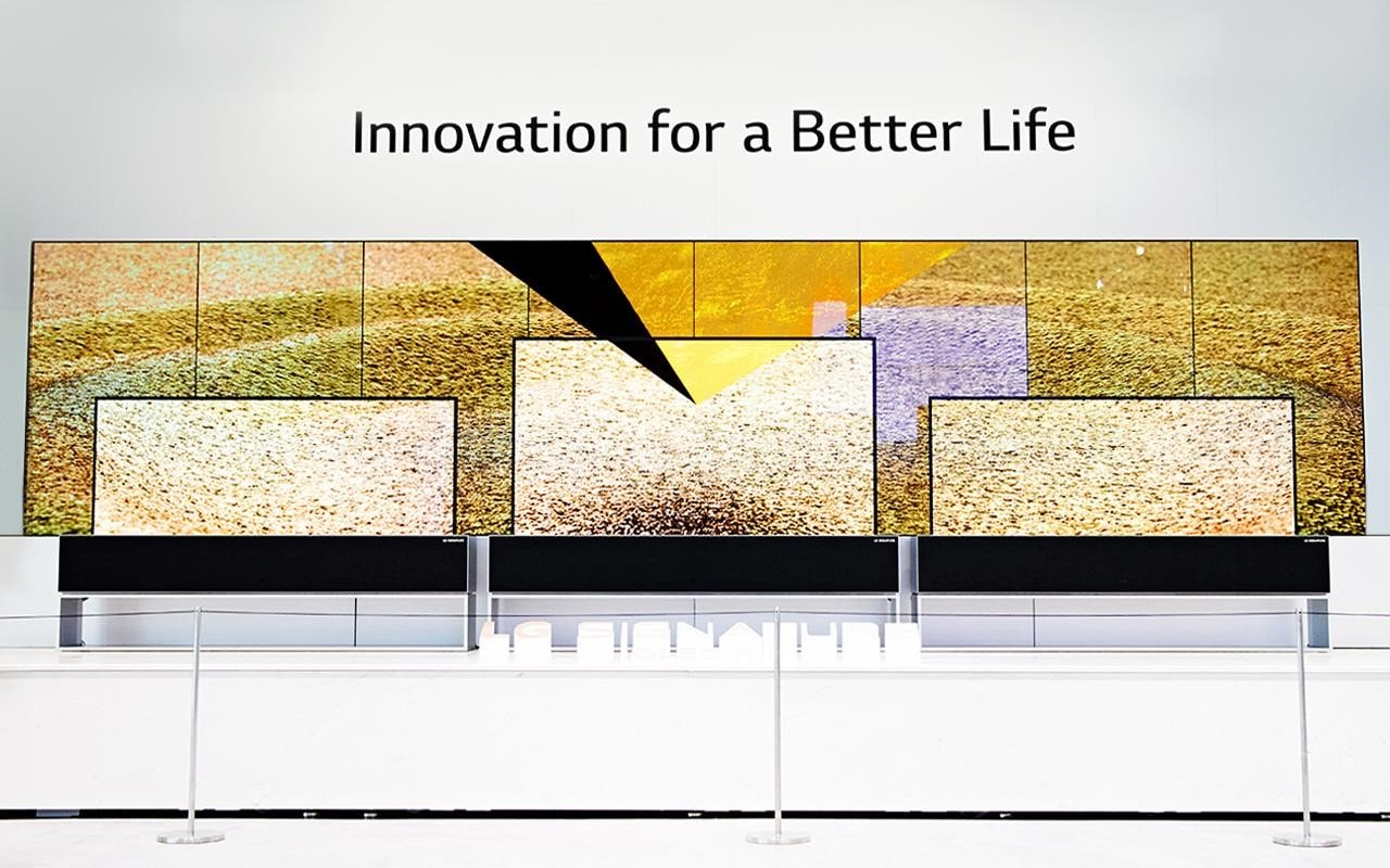 Innovation for a better life - that's what LG had in mind when they created the world's first rollable TV | More at LG MAGAZINE