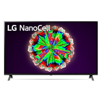 LG NanoCell TV 65 Inch NANO80 Series, Cinema Screen Design 4K Active HDR WebOS Smart AI ThinQ Local Dimming1