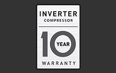 10 Year Warranty1