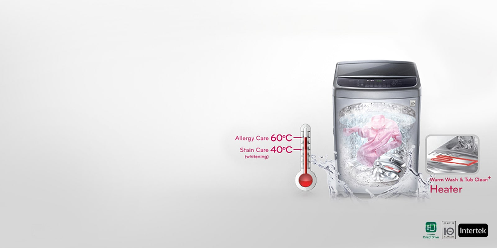 LG Hygienic Washing Machine