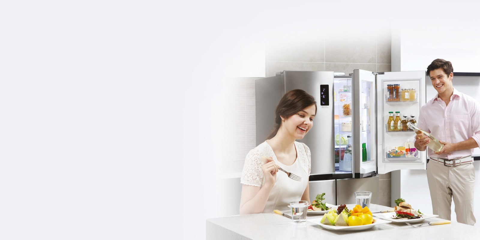 LG Top Freezer with door-in-door