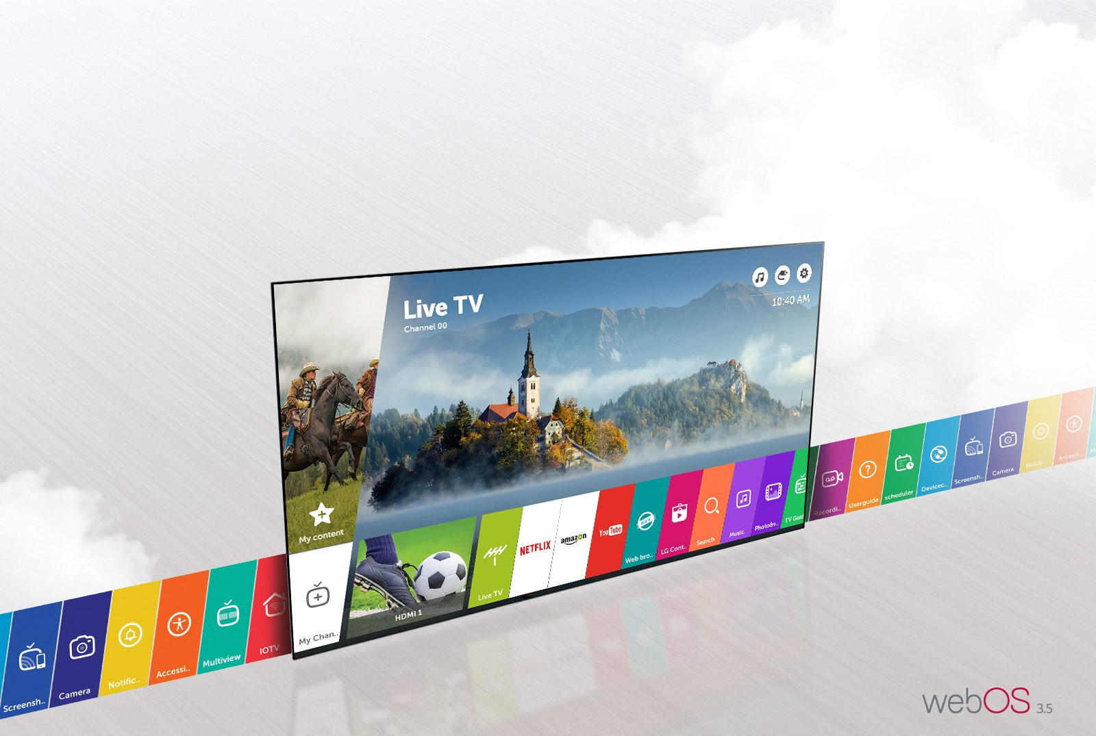 LG 43 LG Smart TV with webOS | LG Egypt