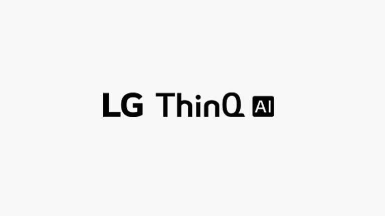 This card describes voice commands. LG AI ThinQ logo were placed.