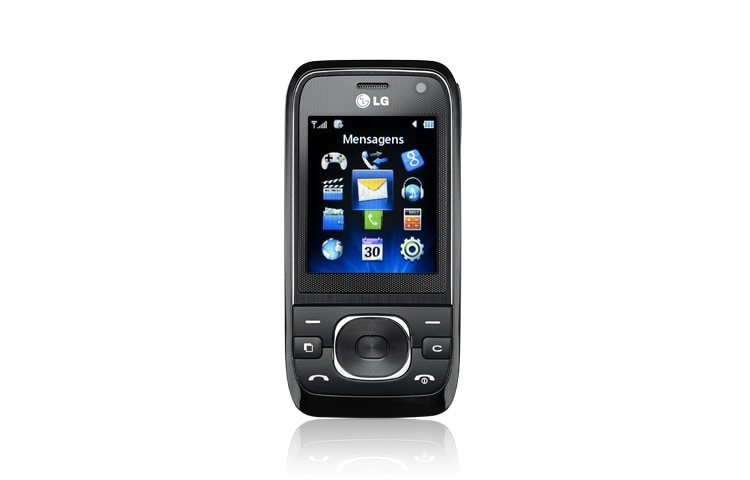 LG  3G video calling, Slim & compact slider, Dual camera (Front-VGA, Back-1.3 mp), FM & MP3, Upto 8GB expandable memory. 1