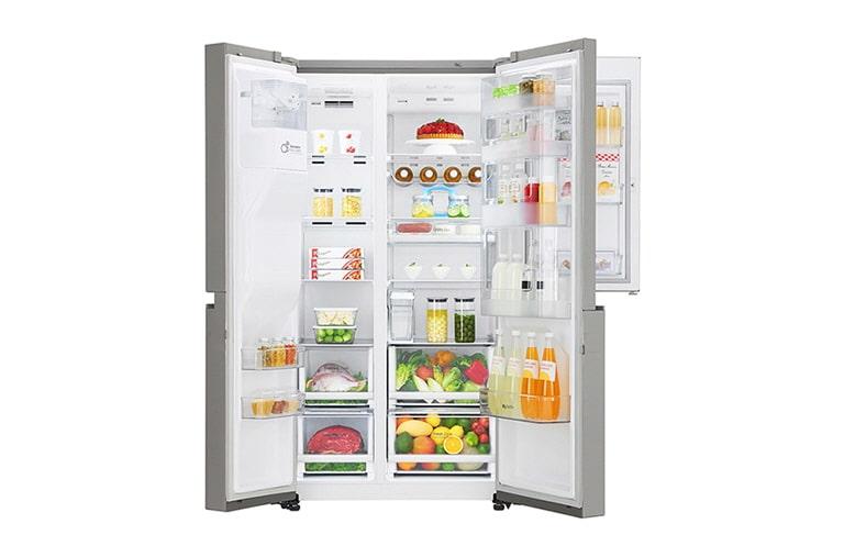 LG Mega Capacity Side-by-Side Refrigerator with New Door-in-Door ...