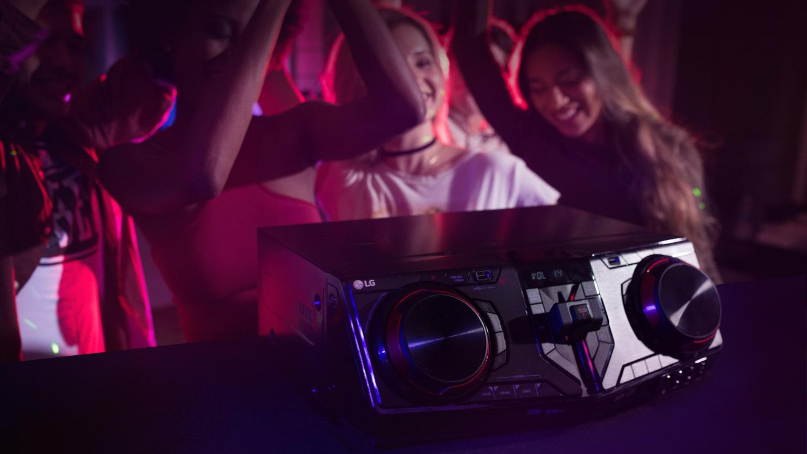 Equipo Alto Voltaje 3500w Usb Dj Y Karaoke Star Lg España