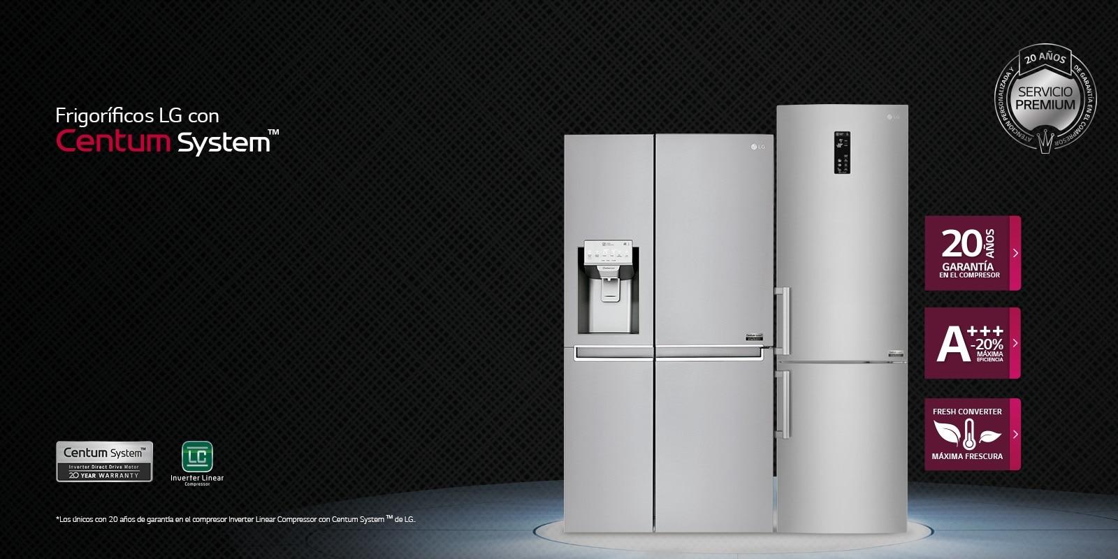 Neveras lg frigor ficos de bajo consumo lg espa a - Frigorificos 2 puertas carrefour ...