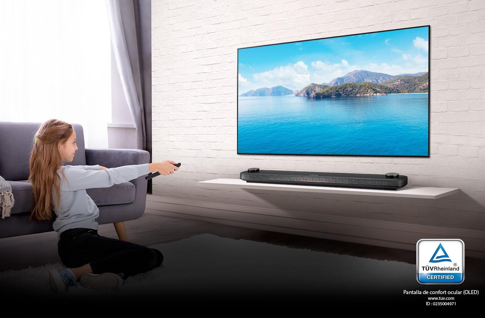 Disfrute de un TV certificado por TÜV Rheinland1