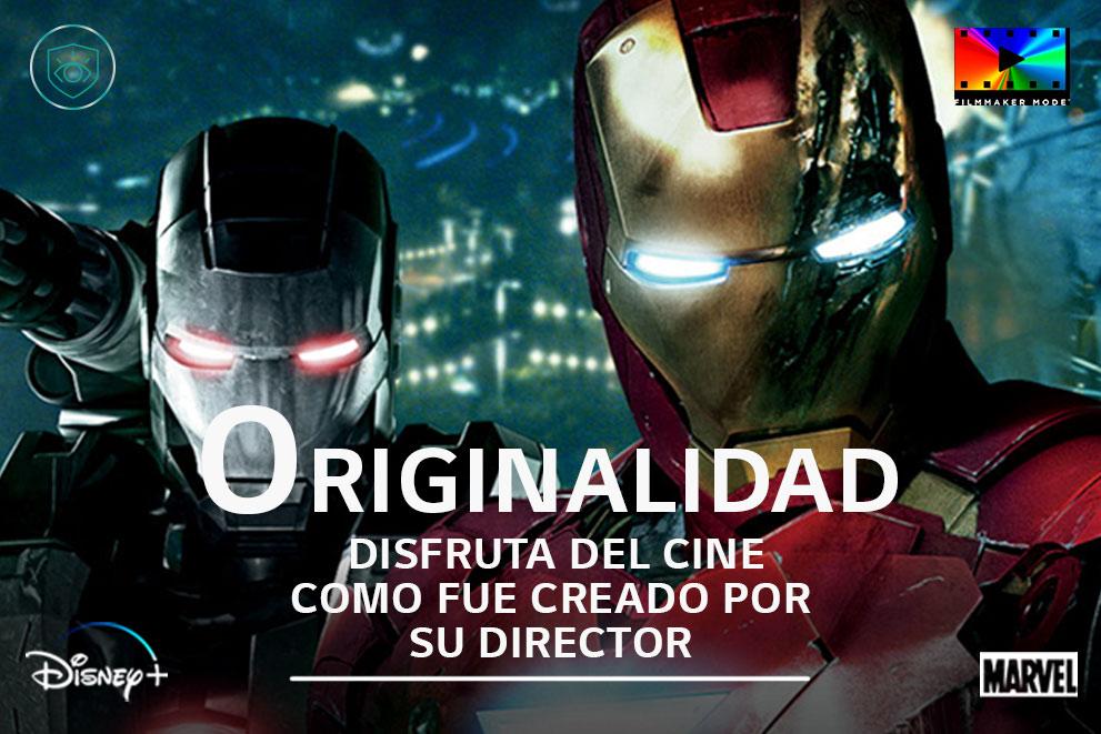 Una escena de Ironman con la etiqueta «Nítido»