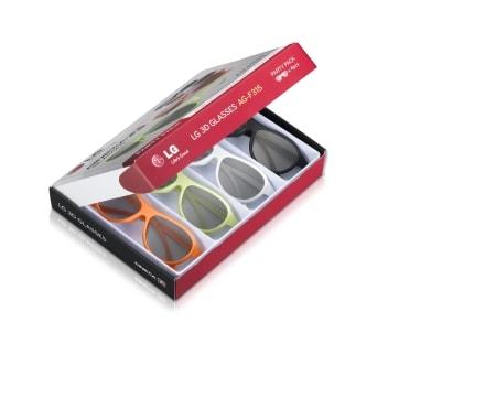 super calidad seleccione para auténtico oferta AG-F315 - Party Pack de 4 pares de gafas cinema 3D