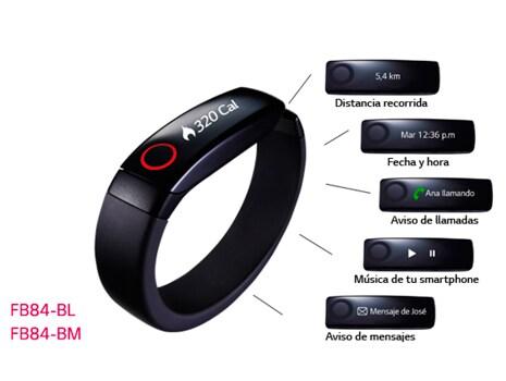 La pulsera que mide, registra y controla tu progreso día a día
