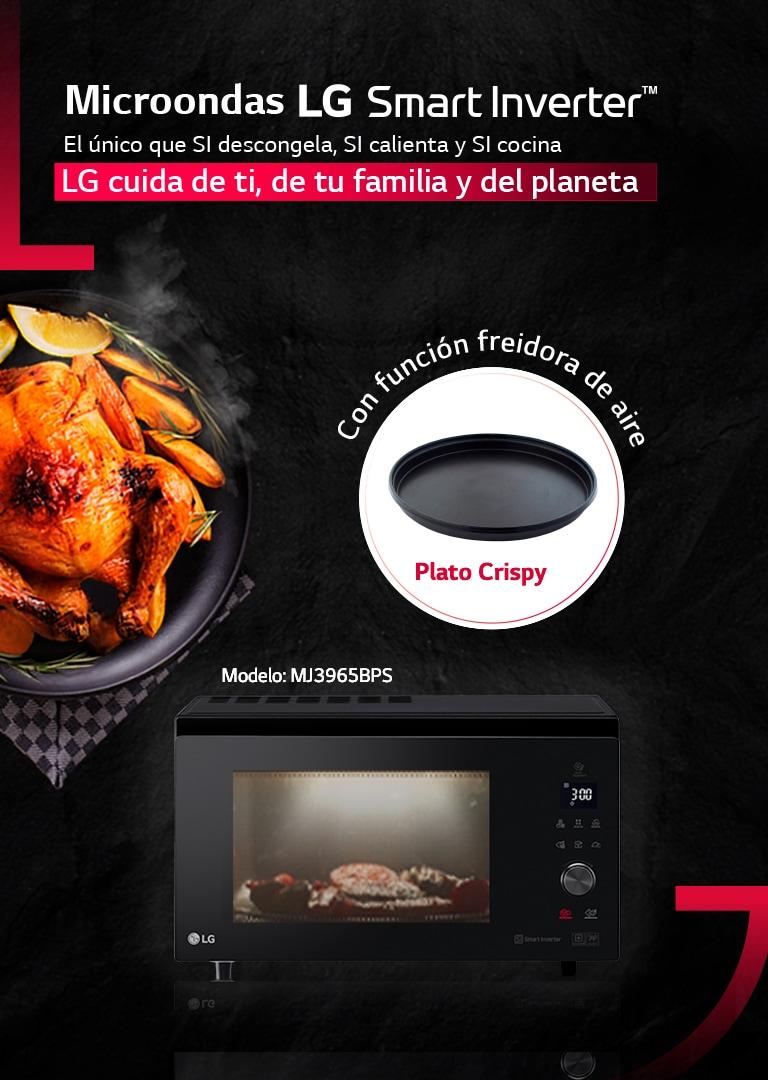 Microondas y Horno microondas Smart Inverter | LG España