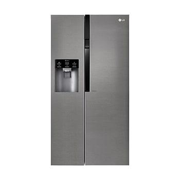 Frigorficos americanos neveras side by side lg espa a Medidas frigorifico americano