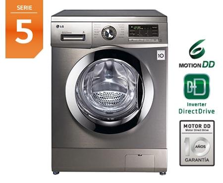 Lavasecadora lg f1496adp7 serie 5 carga 8 4 kg lg espa a - Medidas de lavadoras y secadoras ...