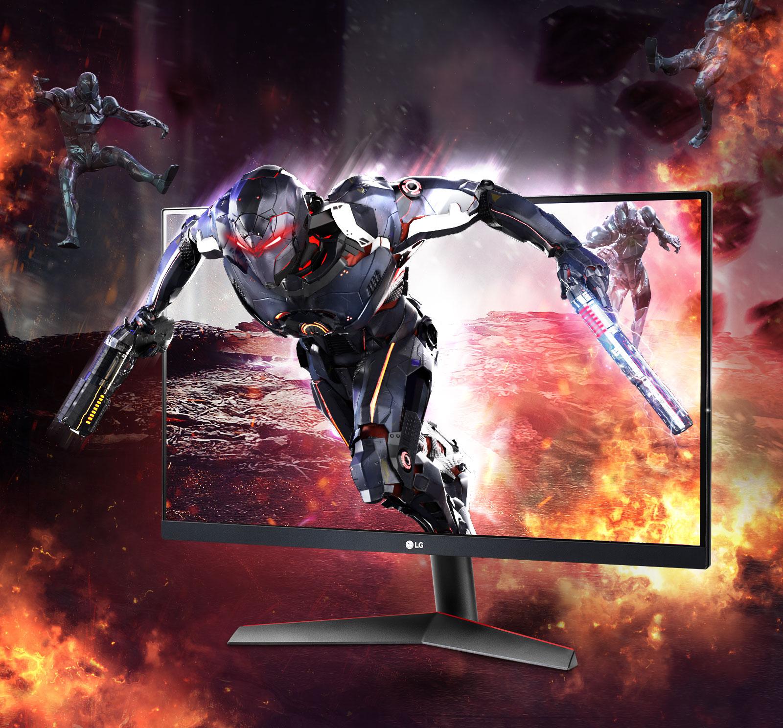 Monitor LG UltraGear, un equipo potente para tus juegos