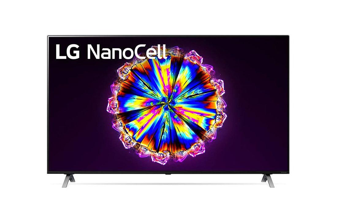 LG 55NANO906NA - Smart TV 4K UHD NanoCell 139 cm (55'') con Inteligencia Artificial, Procesador Inteligente α7 Gen3, Deep Learning, 100% HDR, Dolby Vision/ATMOS, 4xHDMI, 3xUSB 2.0, Bluetooth 5.0, WiFi [Clase de eficiencia energética A], 55NANO906NA