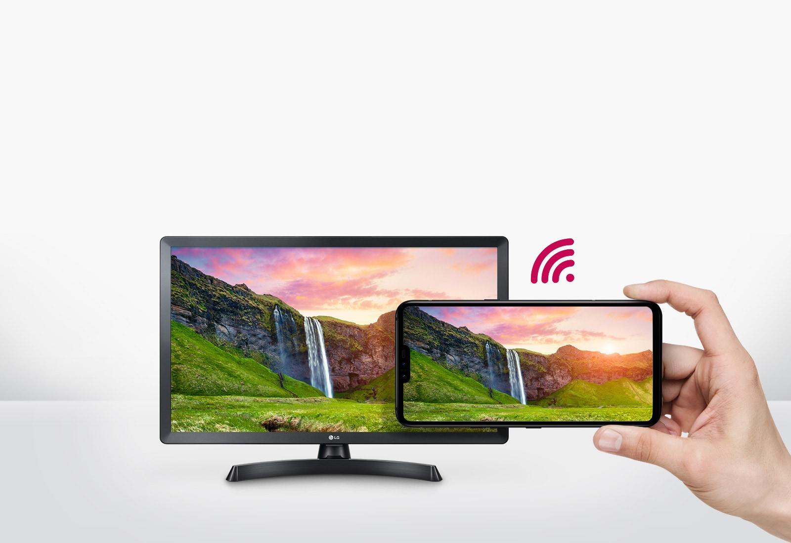 Esta solución inalámbrica con wifi integrado te permite ver el contenido de tu smartphone en el tamaño de tu televisor.