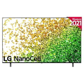 Vista frontal del LG NanoCell TV1