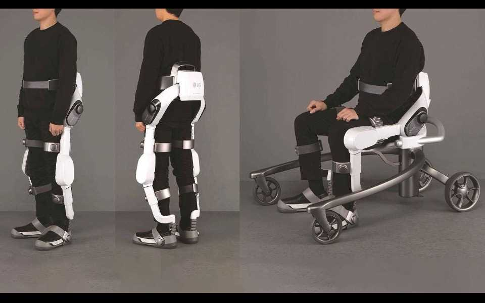 The CLOi SuitBot will help people with walking, and also with heavy lifting | More at LG Magazine
