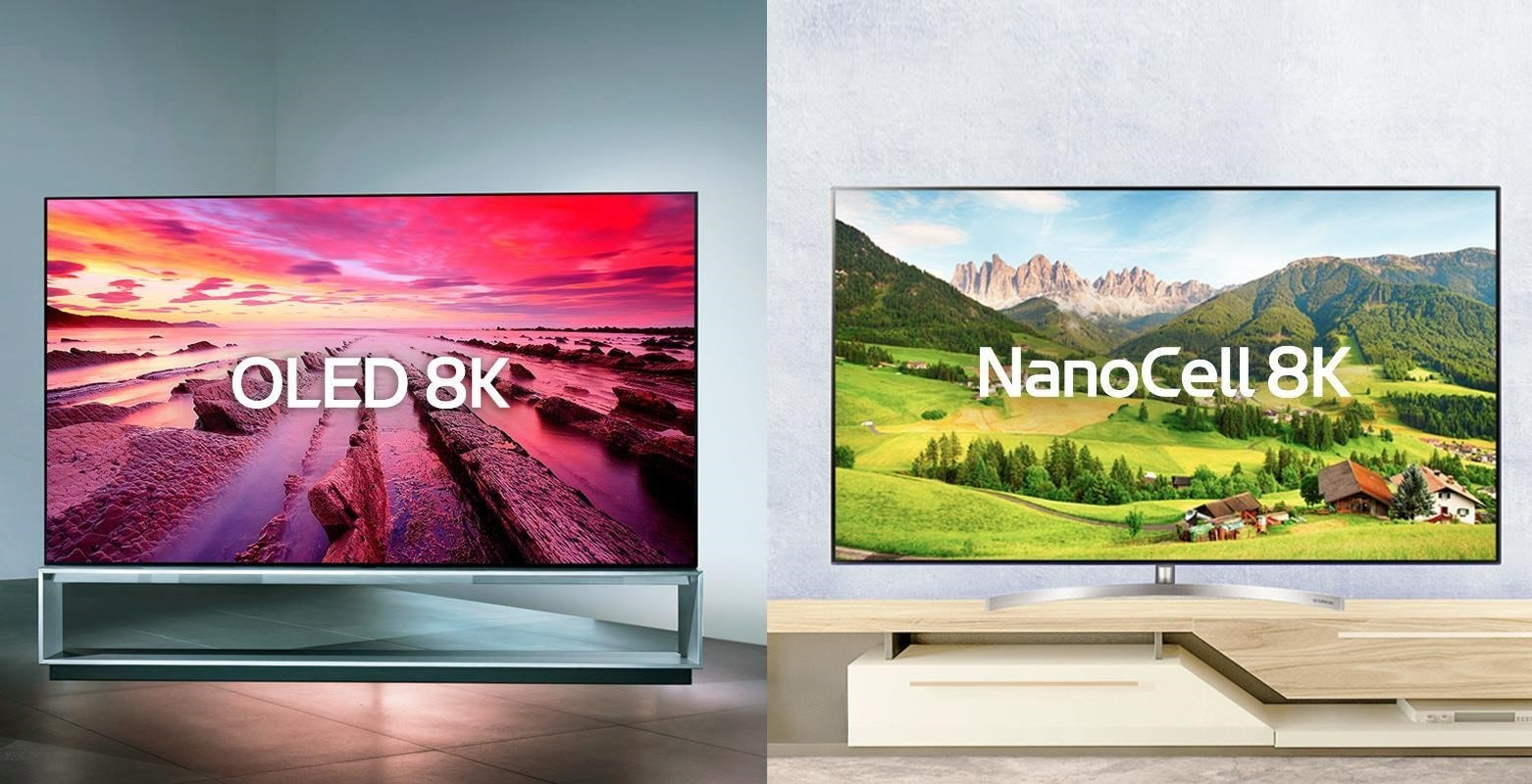 It can be hard to decide between the LG OLED TV and LG NanoCell TV - both will look simply stunning on your wall | More at LG MAGAZINE