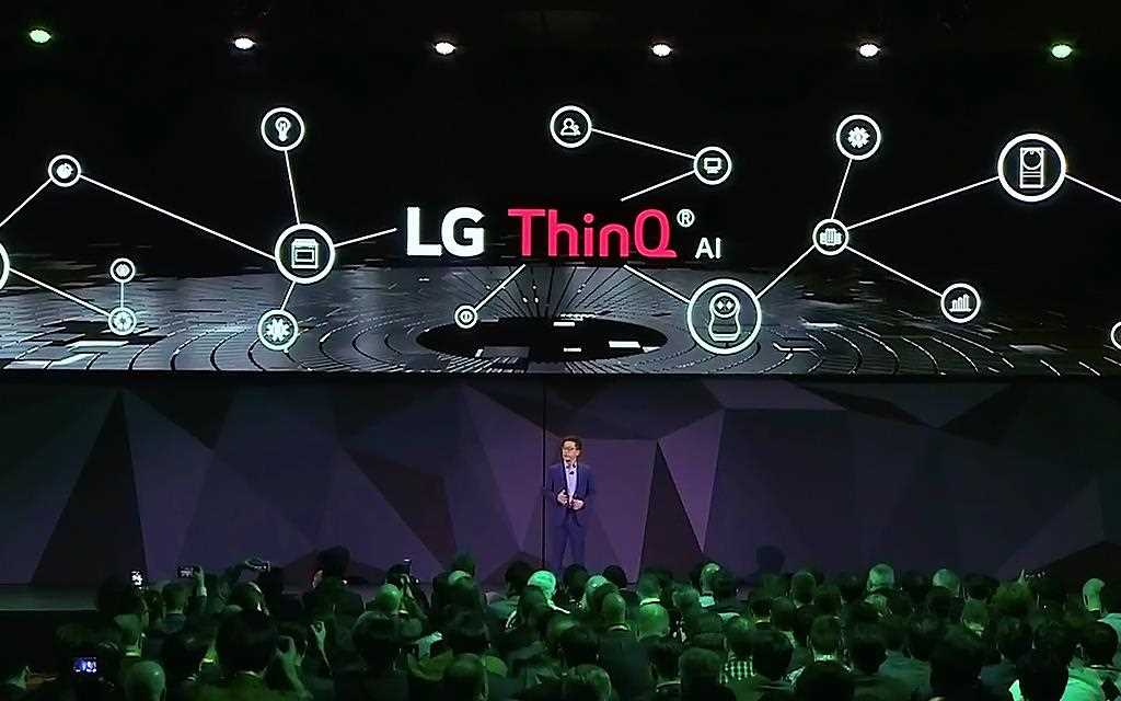 LG is presenting its innovative new technology at CES 2018