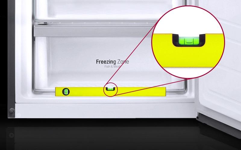 lg-nivelar-nevera-frigorifico-nivel-burbuja
