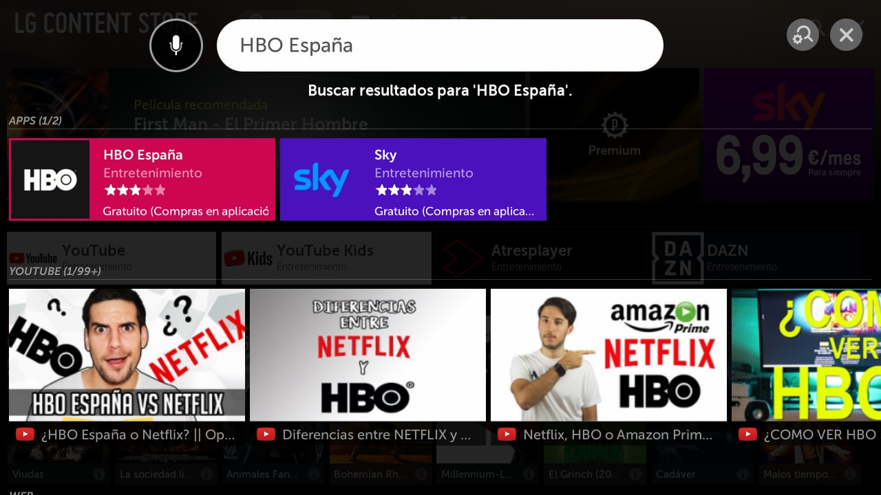 Instalar la aplicación de HBO en televisores LG   LG España