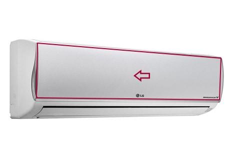 Limpiar filtros aire acondicionado lg art cool sistema for Temperatura de salida de aire acondicionado split