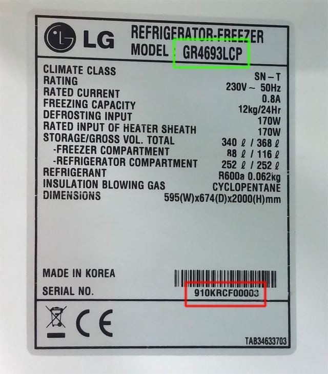 LG-pegatina-numero-serie-frigorifico