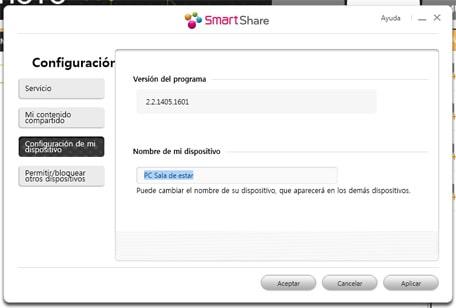 LG SmartShare software de LG 07