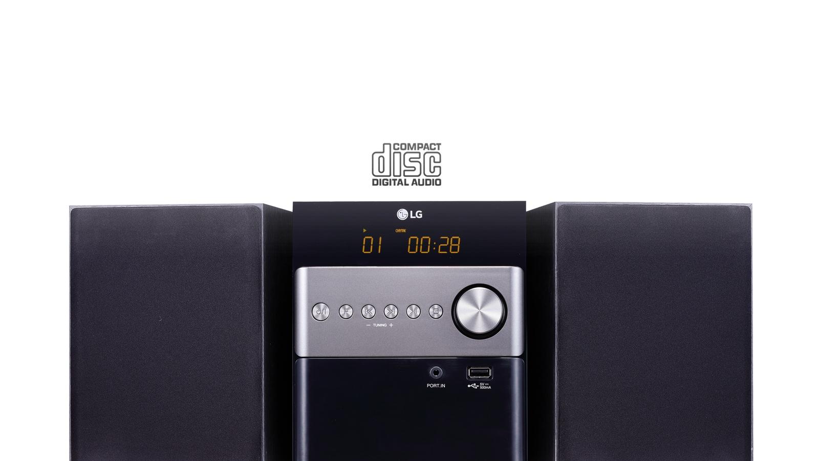 Lg Cm1560 Micro Mini Hi Fi System 10w Cd Radio Usb